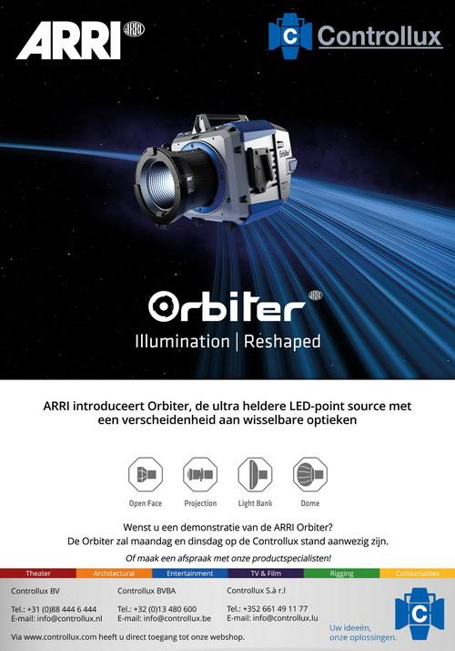 ARRI introduceert Orbiter
